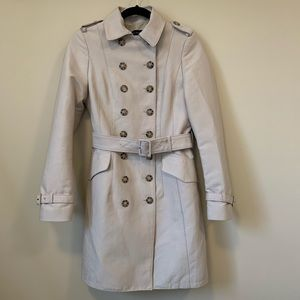 Zara Classic Double Breast Belted Trench Rain Cost